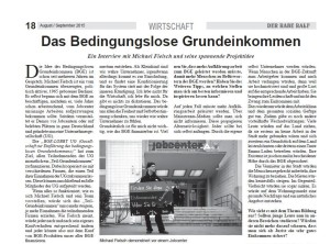 Interview im Raben Ralf August-September 2015